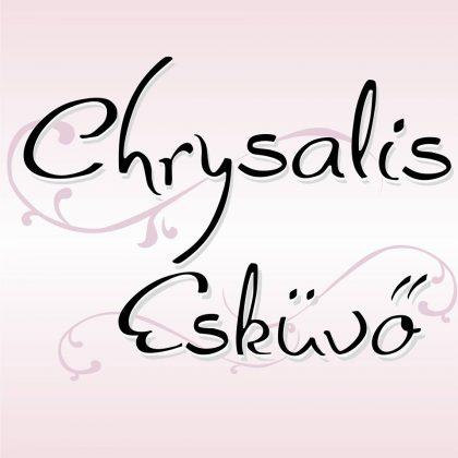 chrysalis-eskuvoi-ruhaszalon logo