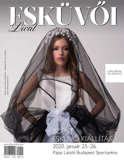 Esküvői Divat magazin – címlap 2020/1, kiemelt kép