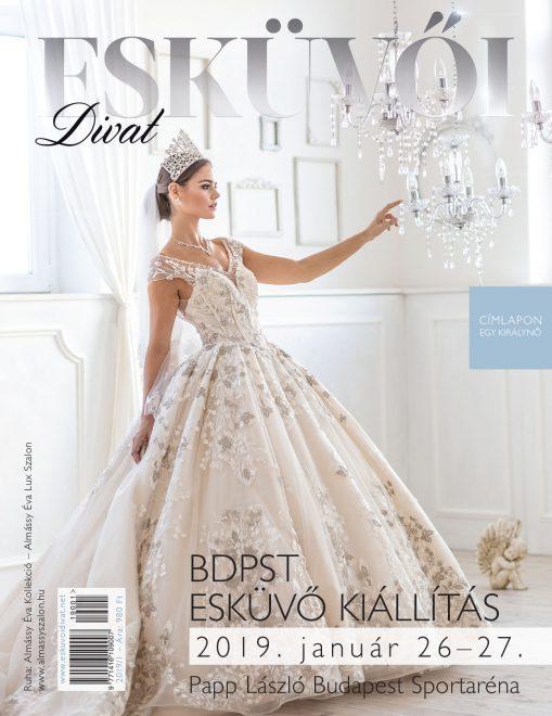 Esküvői Divat magazin – címlap 2019/1, kiemelt kép