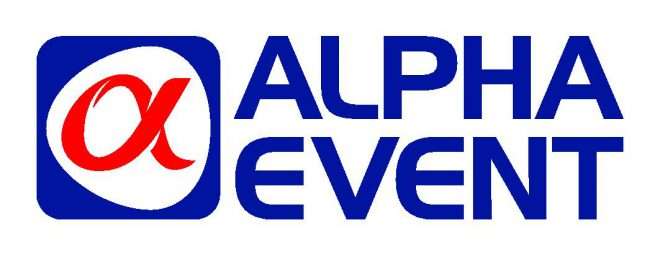 alpha-event logo