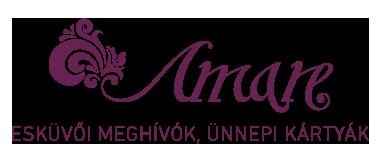 amare-pataki-aniko-eskuvoi-meghivok-vendegkonyvek-ultetokartyak-www-amare-hu logo
