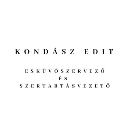 kondasz-edit-eskuvoszervezo-es-szertartasvezeto logo
