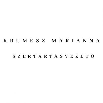krumesz-marianna-szertartasvezeto logo